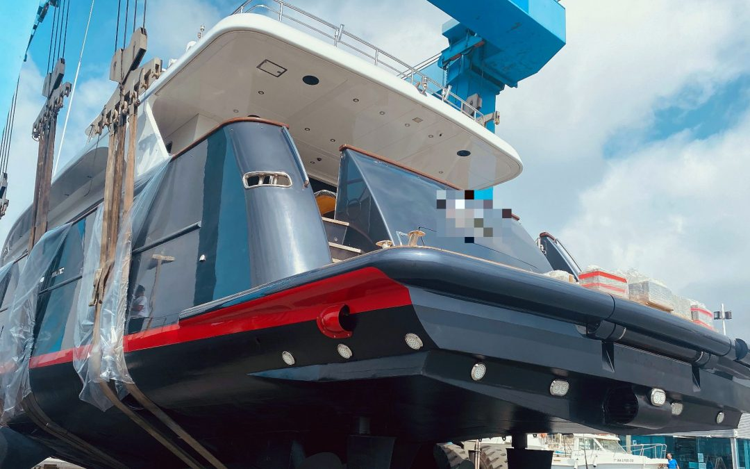 Varador 2000 transforms the stern of a Bennetti MY