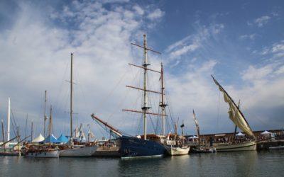 Cerca de 5.000 visitantes en la primera edición  del festival marítimo Maresmar