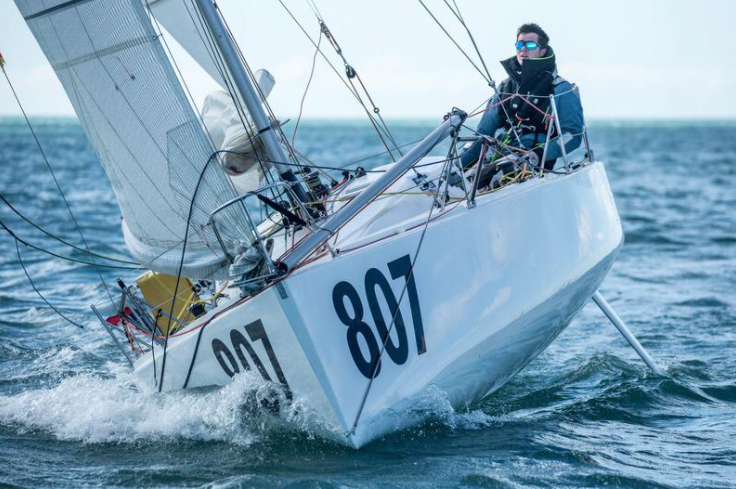 Carlos Manera and Varador 2000 in the Mini Transat 2021
