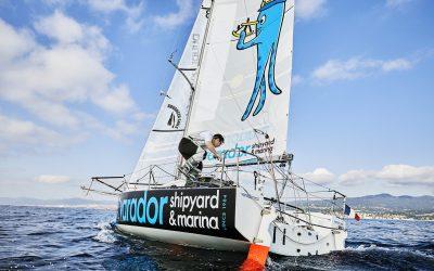 Carlos Manera, segundo clasificado de la clase mini en la regata La Petrolera