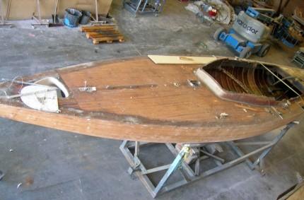 Refit completo del velero Fortuna, el primer barco del rey de España