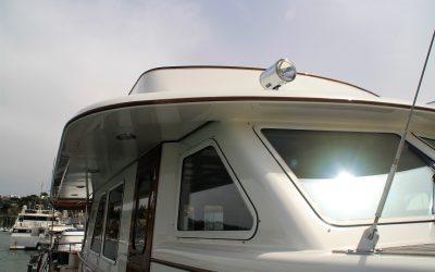 Varador 2000 transforma el skyline lateral y frontal de un yate holandés
