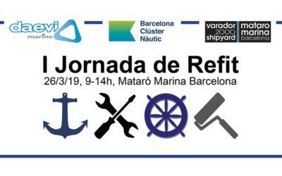 I Jornada de Refit del sector náutico dirigida a los profesionales y proveedores vinculados al mantenimiento y la reparación de embarcaciones