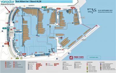 Varador 2000 participa en Monaco Yacht Show 2021