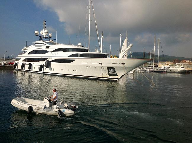 MMB consolidates its position on the map of Super Yachts of the Mediterranean