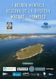 Pòster I Regata Menorca Reserva de la Biosfera - Mataró-Fornells