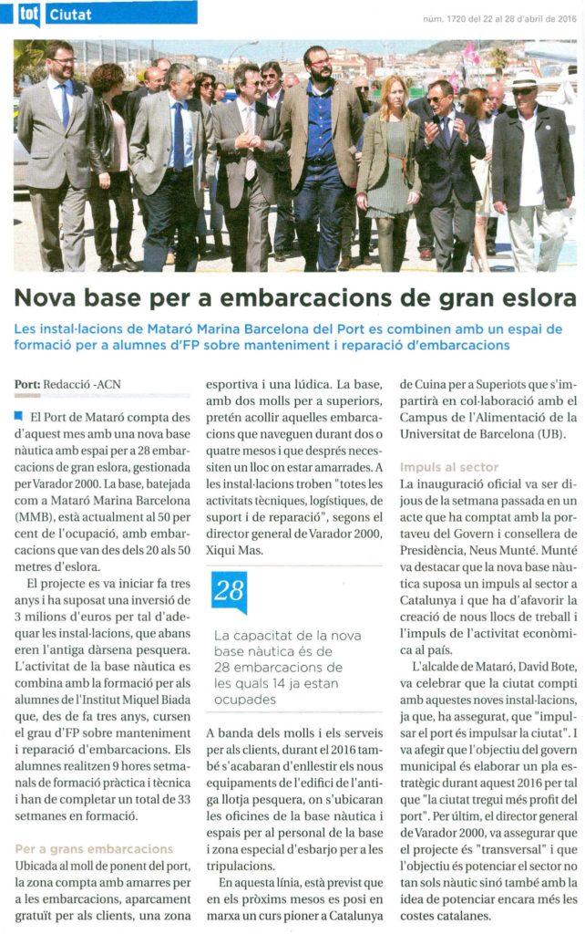 Tot Mataró (22-4-16)