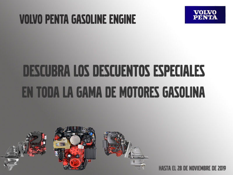 Special discounts on Volvo Penta gas engines in Varador 2000