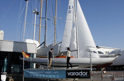 Full Refit Fortuna yacht, the first ship of the King of Spain