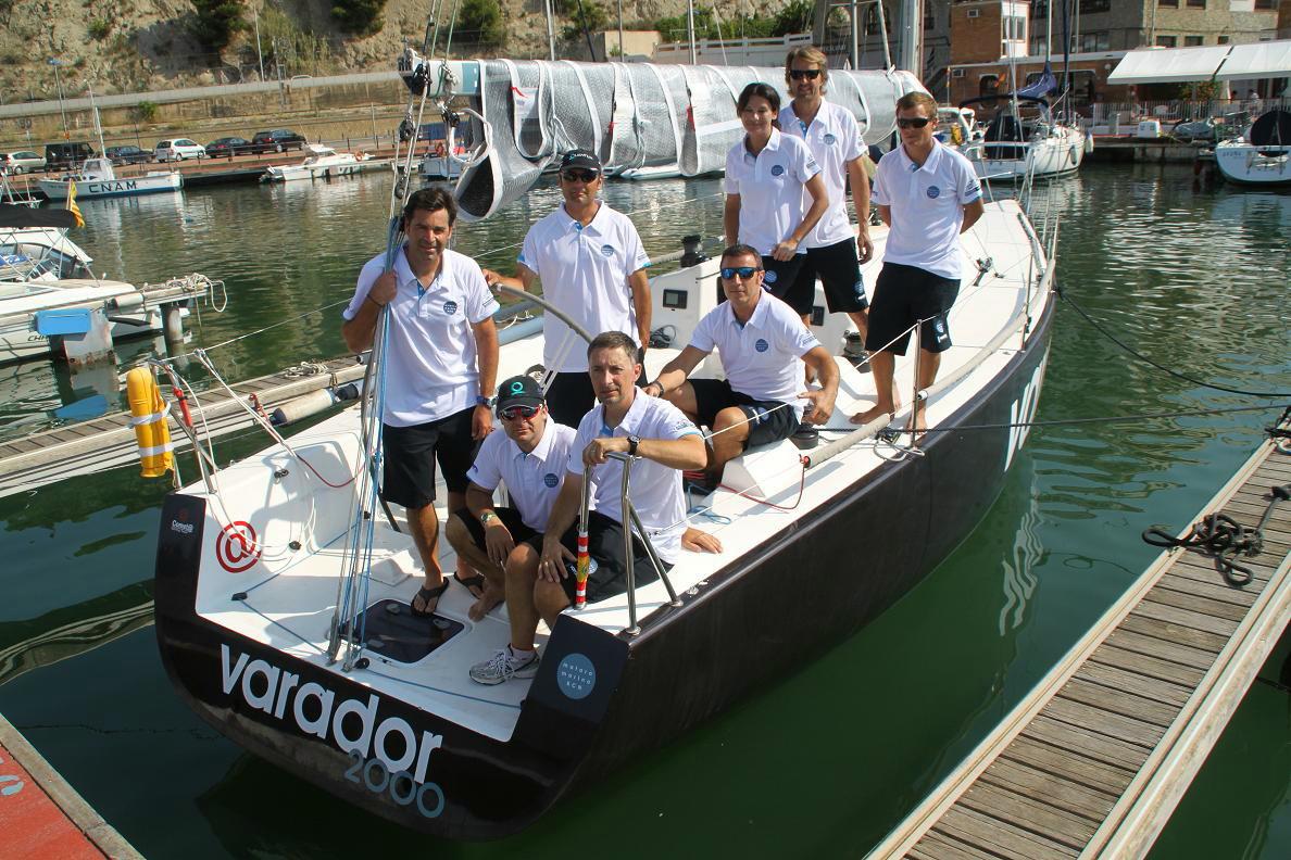 Varador 2000 sailboat crew prepares for Copa del Rey Sailing