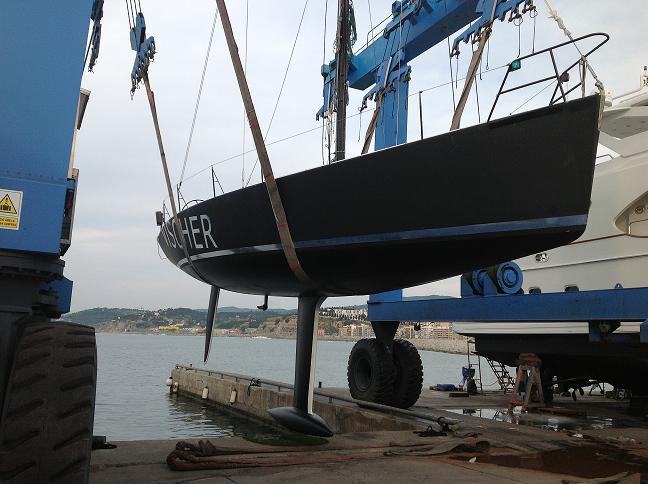 General Refit a DK 46 sailboat on Varador 2000 equipment