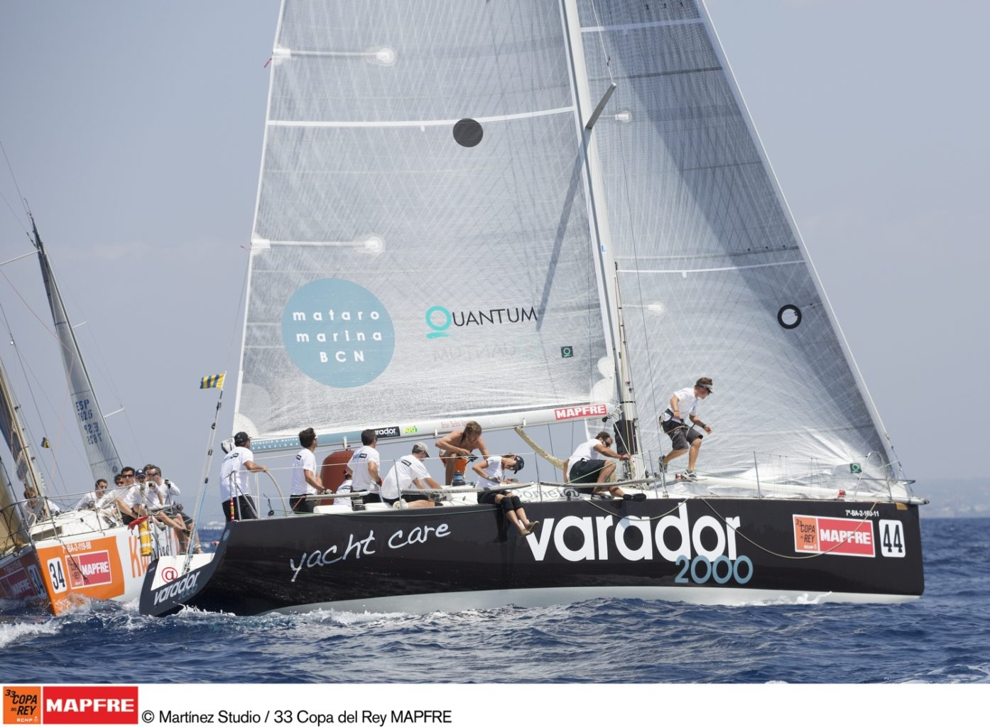 The Varador 2000 in third place after the first day of racing