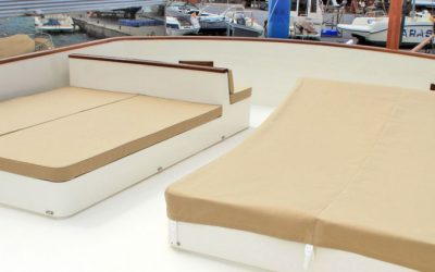 Varador 2000 incorporates a new workshop specialized in nautical upholstery in its shipyard