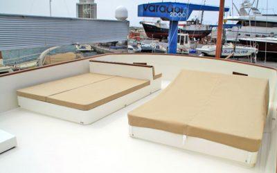 Varador 2000 incorpora un nuevo taller especializado en tapiceria náutica en su shipyard