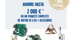 Campaña de remotorización con motores compactos D1 y D2 de Volvo Penta en Varador 2000